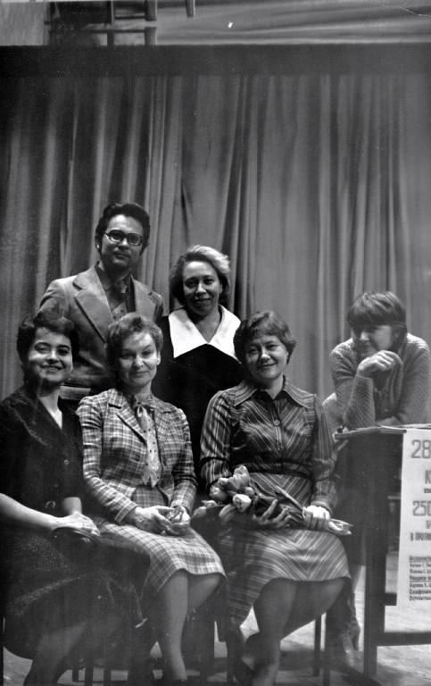 1980 г. преподаватели фортепианного отдела